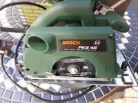 Bosch PKS 46 circular saw. Hardly used.