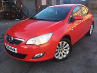 60 Plate - Vauxhall Astra J 1.4 VVT 16v S - 5 door - 2 former keepers - warranted miles -