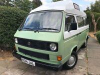 Volkswagen T25 T3 Hightop Camper Van. £16,000 VW SPECIALIST REBUILD COMPLETED