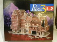 Puzz 3D Jigsaw Puzzle 418 Pieces Model Bavarian Mansion Castle German Palace