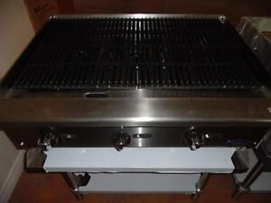 "Charcoal Broiler 36"" Brand New Natural Gas or Propane Atosa"