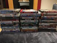 DVD selection (46 DVDs)