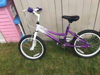 """Girl's SilverFox Damsel 18"""" bike for sale"""