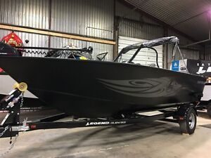 2017 legend boats F19 with MERCURY 115HP ELPT