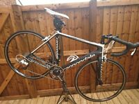 Excellent condition Cannondale supersix full carbon road bike £700 ovno