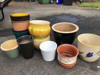 Plant Pots Various sizes