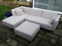 IKEA corner sofas x 2, extend into beds original price £600.00