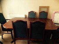 dinning table 6 chair