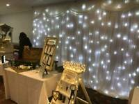 Twinkle backdrop for hire .Prices from £100