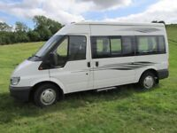 CONVERTED MOTORHOME, FSH, STAND ALONE AWNING, 2 NEW BATTERIES, MOT, MANY ACCESSORIES, RELUCTANT SALE