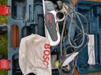 Bosch 110 volt electric planer