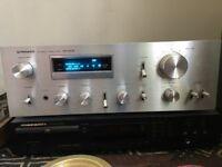 Vintage Pioneer SA608 amplifier