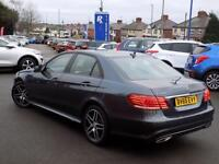 MERCEDES-BENZ E CLASS E220 2.1 BLUETEC AMG NIGHT EDITION 4dr AUTO 175 BH (grey) 2015