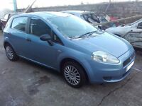 2006 Fiat Grande Punto 1.2 Petrol 4 door in Blue BREAKING FOR PARTS SPARES