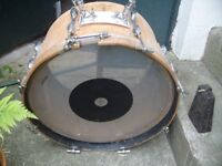 Vintage Olympic bass drum
