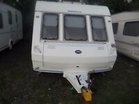 4 BERTH ABI BROOKLYN FIXED BED WITH AWNING 2000 LIGHT WEIGHT