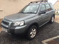 Land Rover Freelander 2.0 td4 diesel manual 2005