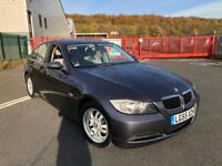 2006 BMW 3 SERIES 320d ES MANUAL e90 4 DOOR SALOON GREY 2 OWNERS FSH GENUINE MILEAGE MAY PX