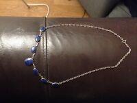 Lapis lizuli 925 necklace