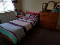 Bedroom Furniture (Bed, Chest Drawers & Bedside Cabinet) (Wardrobe if interested?)