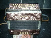 hohner liliput melodeon / accordion club c/f
