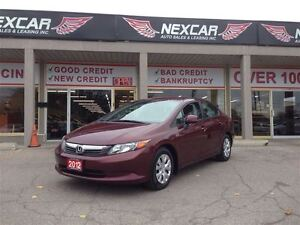 2012 Honda Civic LX AUT0 A/C CRUISE ONLY 116K