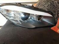 Bmw 5 series driver headlight unit