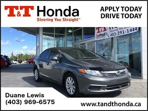 2012 Honda Civic EX *Vehicle comes with Ext Warranty*