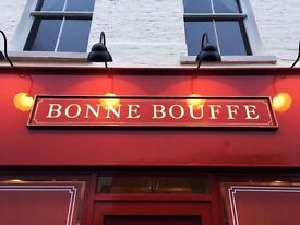 Waiter/ Waitress for French Restaurant and Bar- East Dulwich