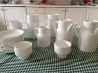 Wedgwood White Fine China Coffee Set