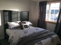 *IKEA King Size Bed Matress Included ONLY 6 MONTHS OLD BRAND NEW - Black*