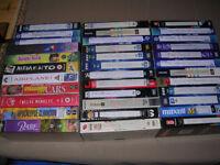 VHS tapes, job lot