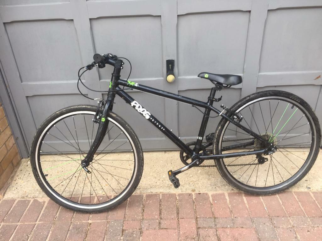 "7ab877f25 Frog 69 kids bike 10-12 year old - great hybrid 26"" wheels"