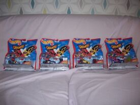 Hot wheels - Crasher cars carded as new 1998 x 4