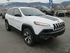2016 Jeep Cherokee Trailhawk 4WD - Leather - Backup Camera