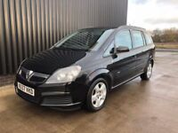 2007 (57) Vauxhall Zafira 1.6 i 16v Club 5dr 2 previous Owners, 2Keys, Service History, 12 Month MOT