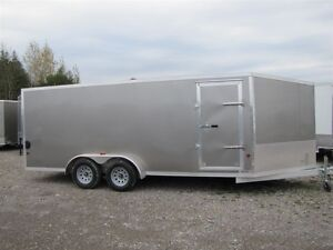 2017 Mission Trailers 7' x 23' ALL ALUMINUM SLED TRAILER Peterborough Peterborough Area image 1