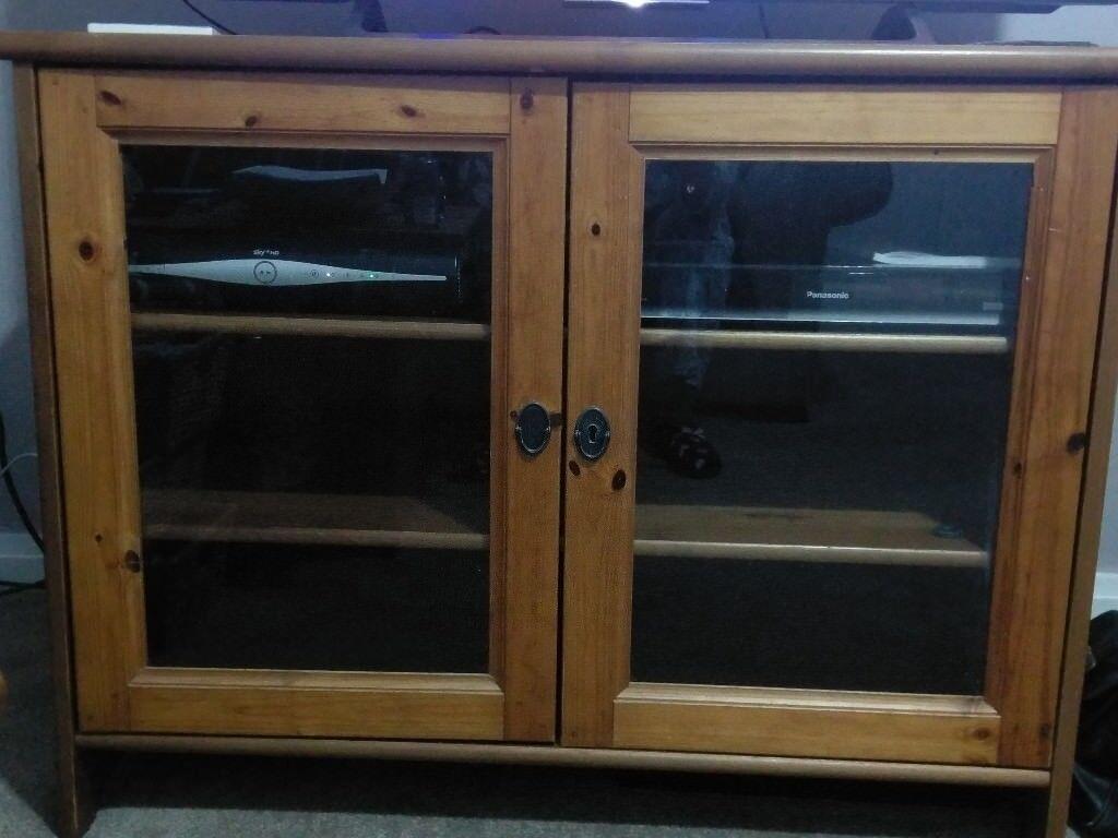 Ikea leksvik antique pine tv cabinet £25 in sheffield south