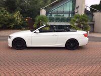 White BMW 325i MSport
