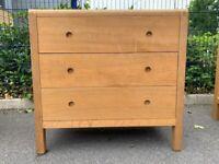 Habitat Radius 3 Drawer Oak Chest of Drawer – Great Condition – RRP £495