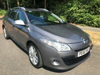 MEGANE 1.5 DCI MUSIC ESTATE 60 REG IN THUNDER GREY METALLIC, ONLY 1 OWNER FROM NEW AND MOT JULY 2019