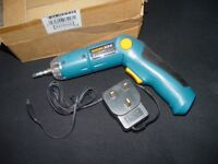 Cordless SCREW DRIVER NEW spare or repair