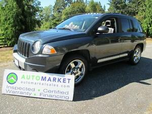 2007 Jeep Compass Limited, 4x4, Insp, Warr