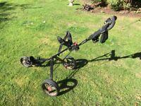 Masters series 3 folding golf trolley