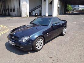 Mercedes SLK 230 Kompressor Low mileage Convertible Sports Classic car