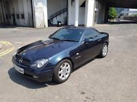 Mercedes SLK 230 Kompressor Low mileage Convertible Sports Classic car