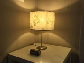 Tree lamp with Brand New light bulb and stand, in excellent condition!!