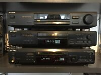 Sony HIFI stack separates full system with 5 speakers