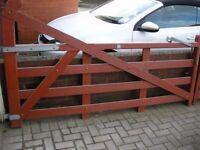 5 Bar Gates (matched pair)