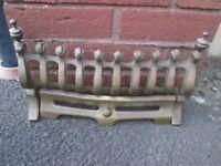 Brass Fire Grate (ornamental)